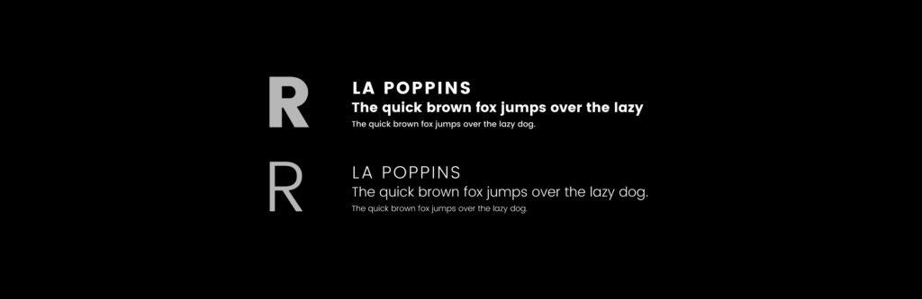 typographies olivier hoareau