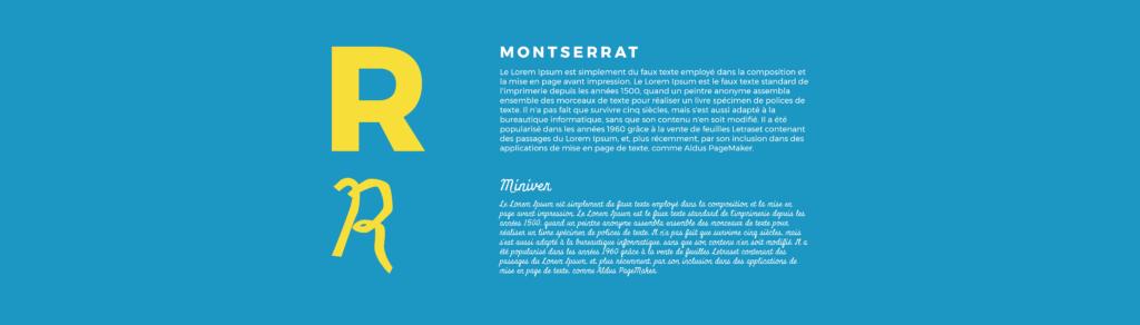typographie méthode cube