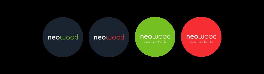 déclinaison logo neowood