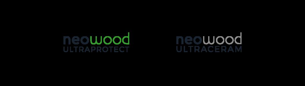 déclinaison logo gamme neowood