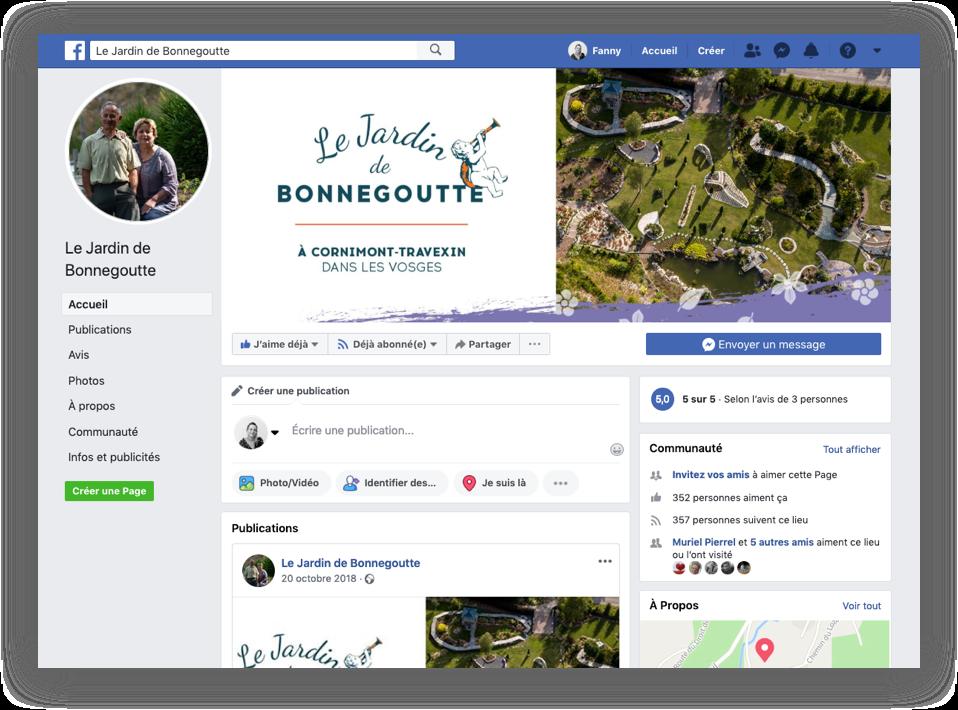 couverture facebook jardin bonnegoutte